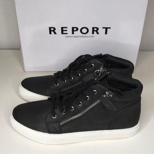 """NWT! Report Footwear """"Amal"""" High-top Sneakers 8"""